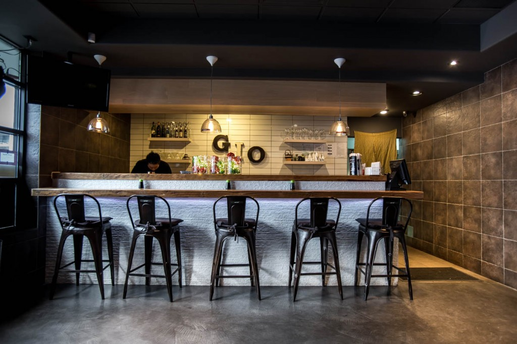 Restaurant interior by Food photographer vancouver