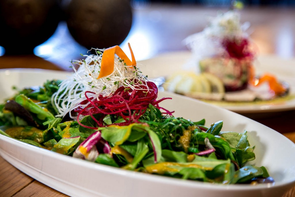 Salad by Food photographer vancouver